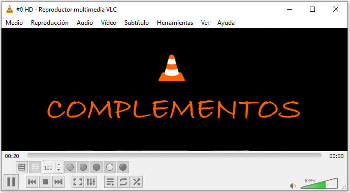 Complementos VLC Media Player